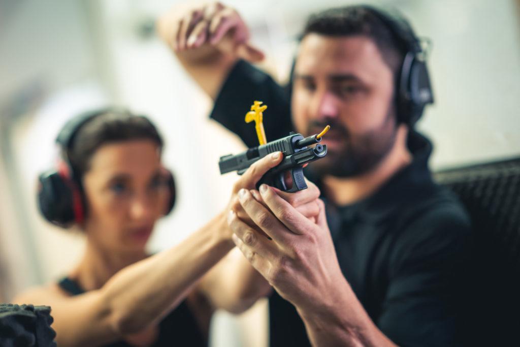 sécurité arme à feux