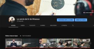 Chaîne YouTube Stand Tir Wissous